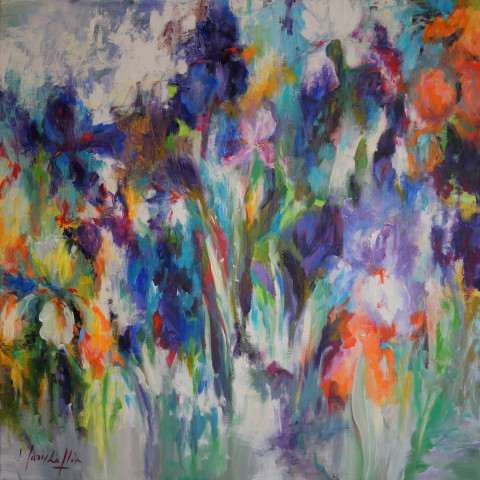 Sea of Iris No. 3