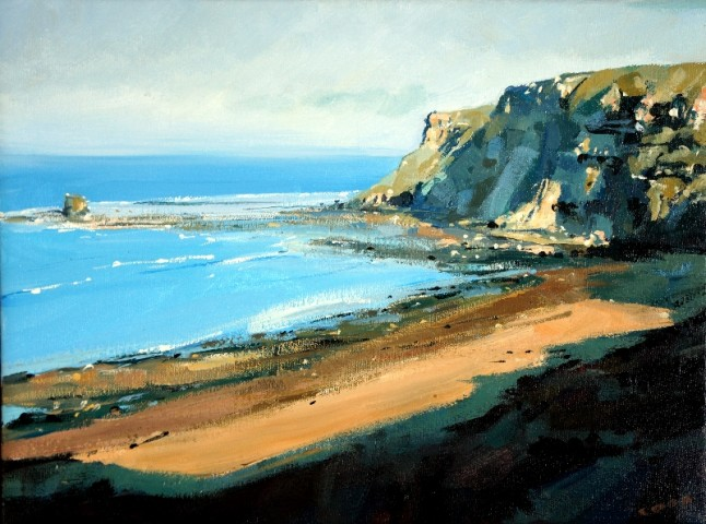 Colin Cook, Saltwick Bay Afternoon