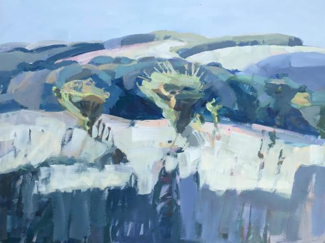 Minnie Shaw Stewart, Summer Cornfields and Downs II