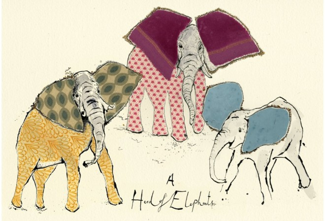 Anna Wright, A Herd of Elephants