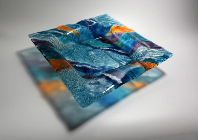 Teresa Chlapowski, Sea and Sun Cushion Bowl