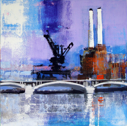 Colin Ruffell, Battersea Power Station