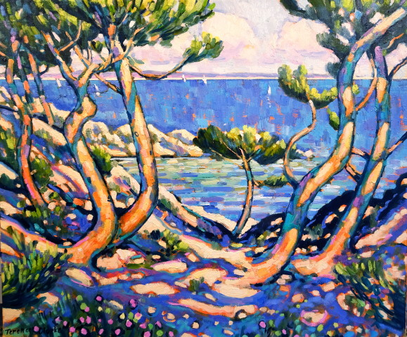 <span class=&#34;artist&#34;><strong>Terence Clarke</strong></span>, <span class=&#34;title&#34;><em>Wild Pines, Cap Ferrat     </em></span>