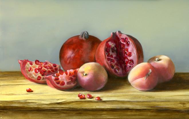 Tanja Moderscheim, Apricots and Pomegranates