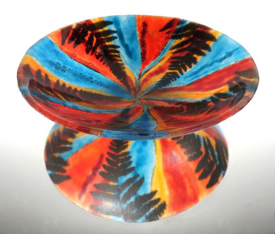 Spiral Fern Bowl