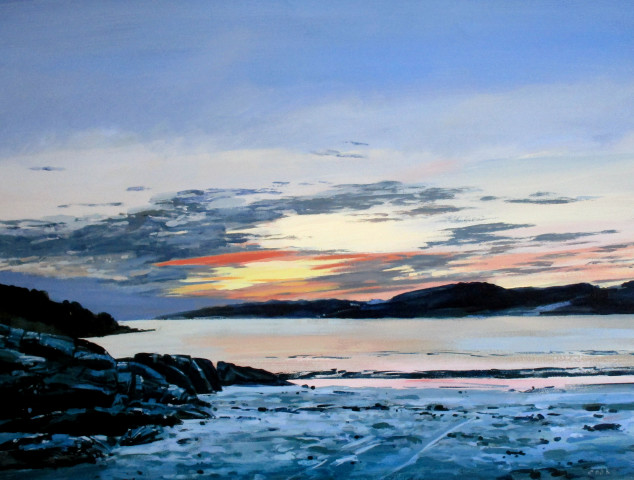 Colin Cook, Summer Sunset at Achmelvich Bay