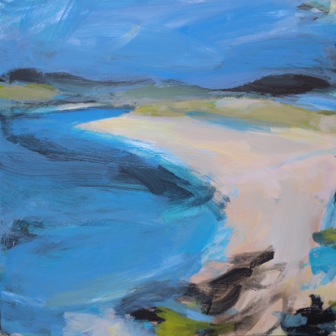 Jane Askey, Scottish Island Blue Bay