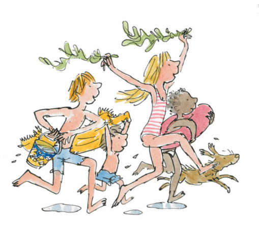 Quentin Blake/Roald Dahl, Down to the Sea