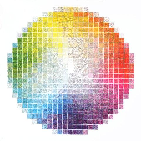 Colour wheel experiment 1