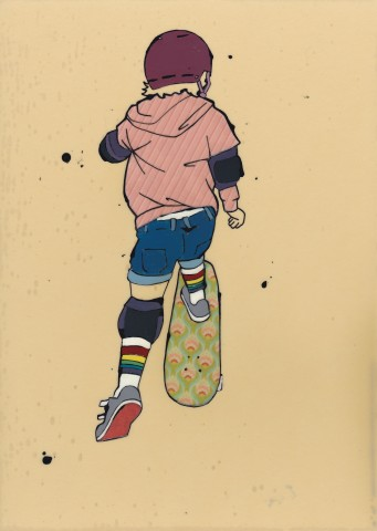 Tracey Oldham, Skateboarding
