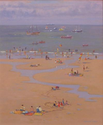 <span class=&#34;artist&#34;><strong>Douglas Hill</strong></span>, <span class=&#34;title&#34;><em>Low Tide Whitby Sands </em></span>