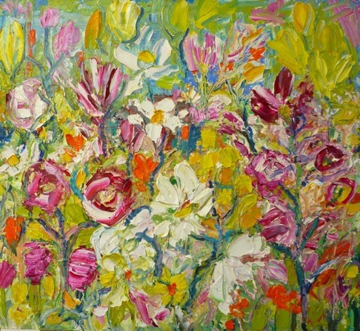 Penny Rees, Summer Flower Bed