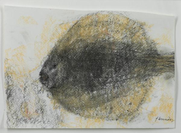 John Olsen, Flounder , 2001