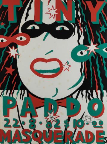 Martin Sharp, Tiny Paddo Masquerade , 1982