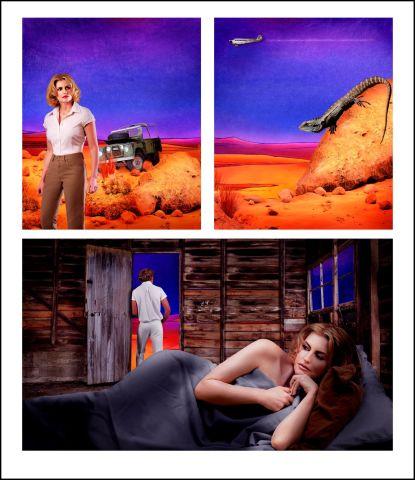 Tracey Moffatt AO, Adventure Series #9, 2004
