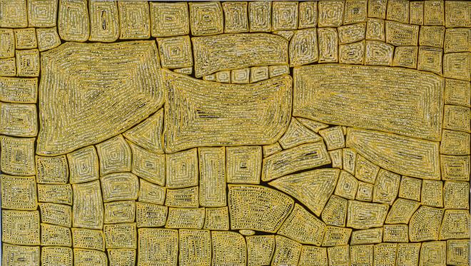 Thomas Tjapaltjarri, Tingari Dreaming, 2005