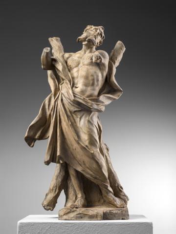 Ercole Ferrata, St Andrew the Apostle, ca. 1664