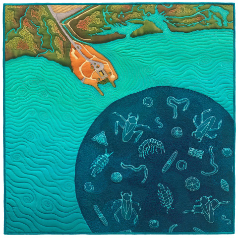 Linda Gass, Cooley Landing: Life in Water, 2015