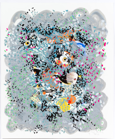 Stephen Farthing RA, The Miracle of the Reef, 2015