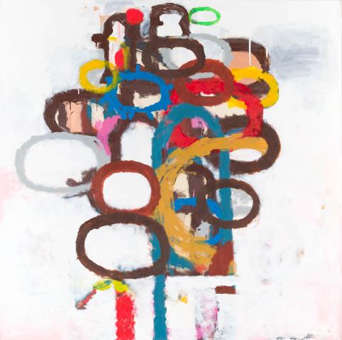 Peter Waldron, Totem Painting 2, 2012/13