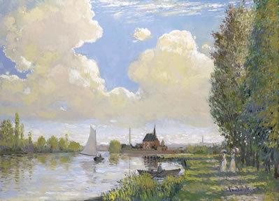 John Myatt, Summer Afternoon, Argenteuill