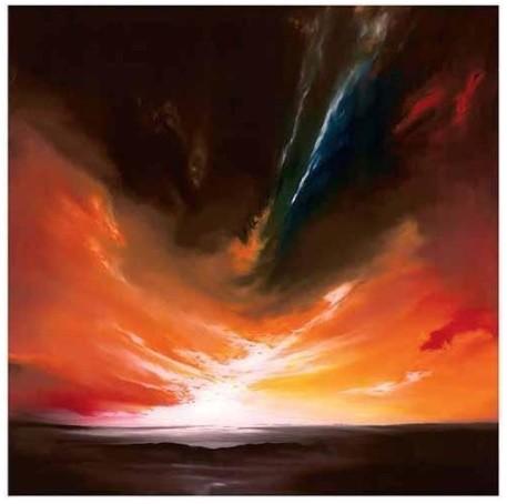 Fire Sky I