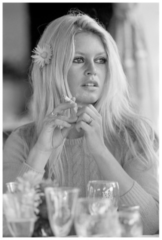 Terry O'Neill, Brigitte Bardot, Deauville, 1968