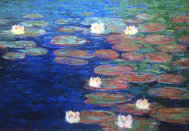Waterlilies - Original