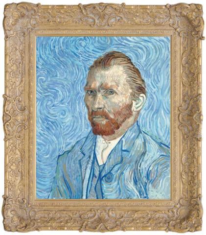 Vincent Van Gogh, Self Portrait - Remy, 1889