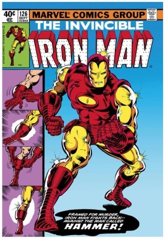 The Invincible Iron Man #126 - Iron Man Fights Back (paper)