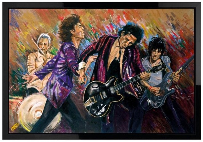Ronnie Wood, The Stones On Stage 'Got Me Rockin'