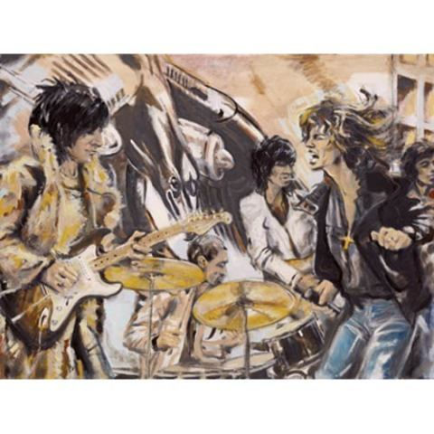 Ronnie Wood, Flatbed 75 (Flatbed Truck), 2005