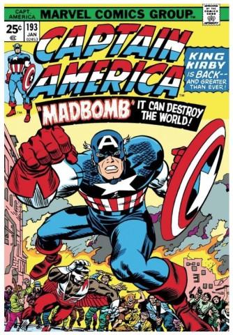 Captain America #193 - Madbomb (paper)