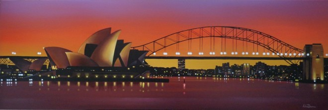 Neil Dawson, Sydney Sunset