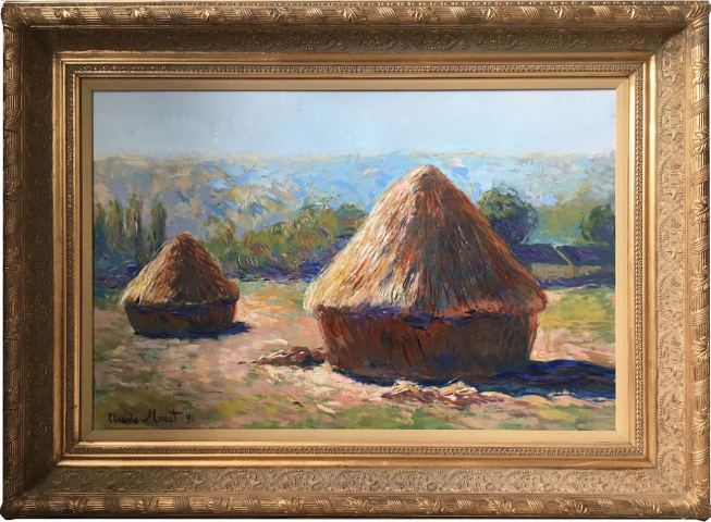 Haystacks (summer) - Original