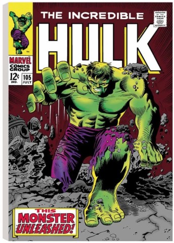 The Incredible Hulk #105 - This Monster Unleashed!  (canvas)