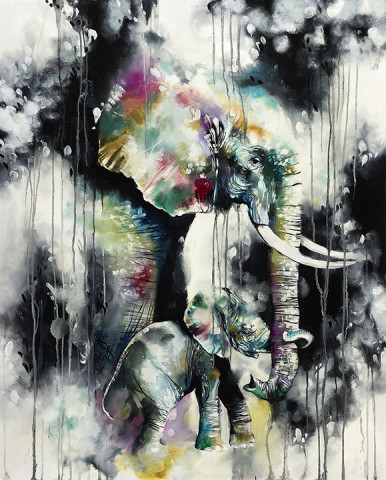 Katy Jade Dobson, Hold On (canvas)