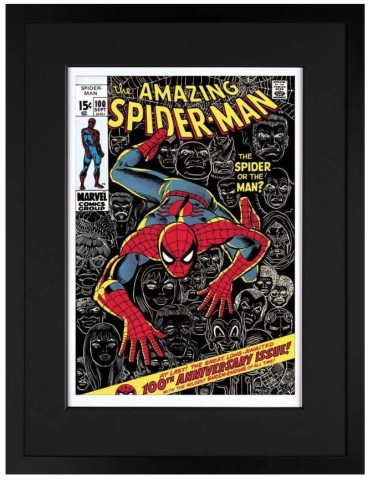 The Amazing Spider-Man #100 - The Spider Or The Man? (paper)