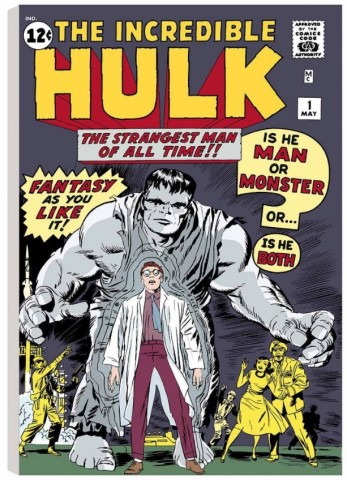 The Incredible Hulk #1 - The Strangest Man of All Time! (canvas)