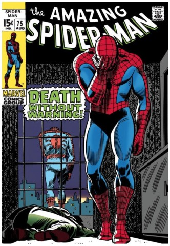 The Amazing Spider-Man #75 - Death Without Warning! (paper)