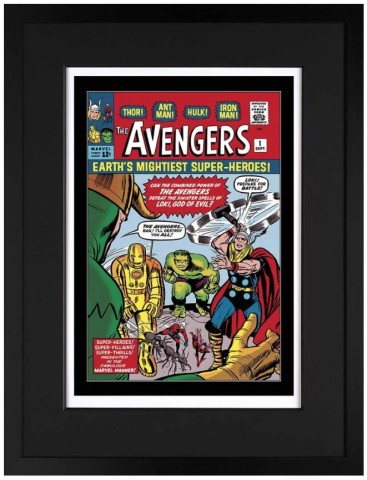 The Avengers #1 - Earth's Mightiest Superheroes (paper)