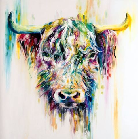 Katy Jade Dobson, Highland Cow (small), 2017