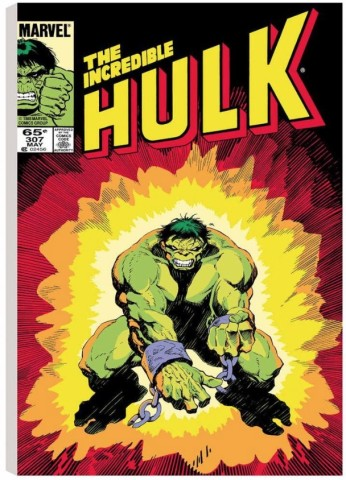 The Incredible Hulk #307  (canvas)