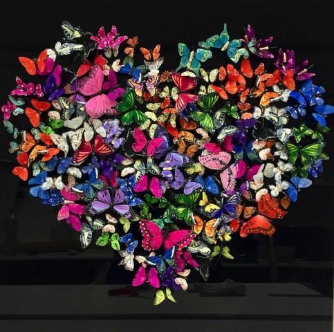 Michael Olsen, 75 x 75 cm - Heart