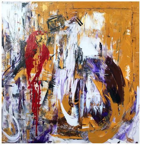 Daniel Hooper, Picasso's Parrot, 2017