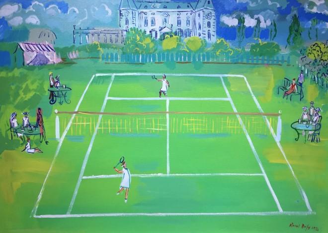 The Tennis Match - Original