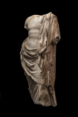 Roman statue of Asclepius, 200-150 BC