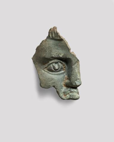 Roman face fragment, c.2nd-3rd century AD