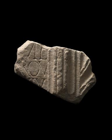 Roman sarcophagus fragment, 1st-2nd century AD