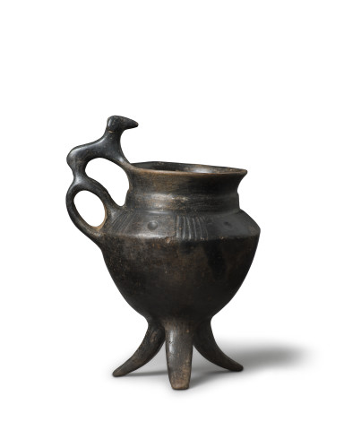 Villanovan vessel with ram, Central Italy, Etruria, late 8th-early 7th century BC